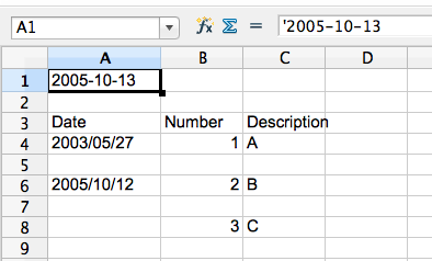 problem with excel